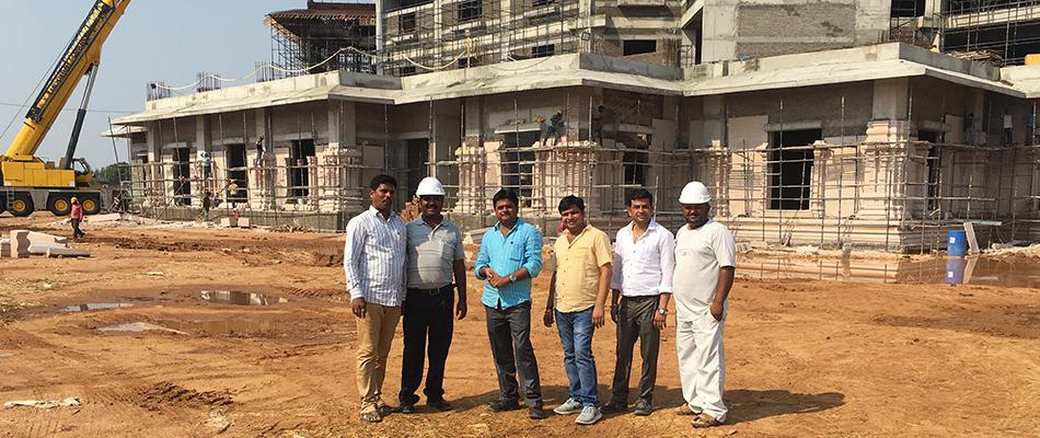 mateshavari temples work